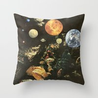 world maps Throw Pillows featuring MAPS by Ben Giles
