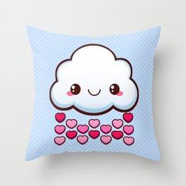 Love Cloud Throw Pillow