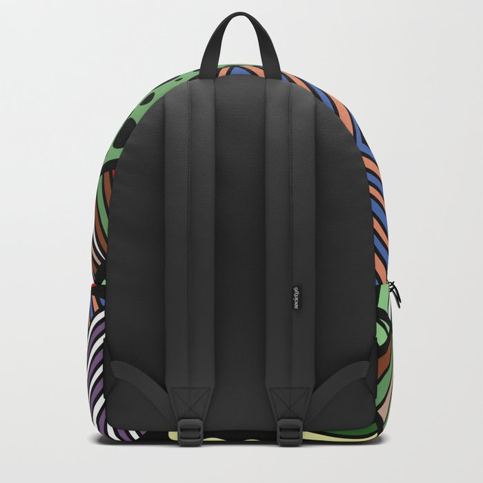 IT'S RAINING COLORS! (abstract tribal) Backpack