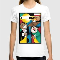 jazz T-shirts featuring Jazz by Szoki