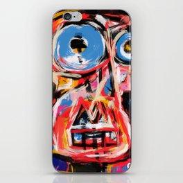 Art brut outsider underground graffiti portrait iPhone Skin