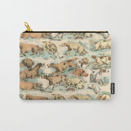 CRAZY BIRDDOGS IN THE FIELD Carry-All Pouch