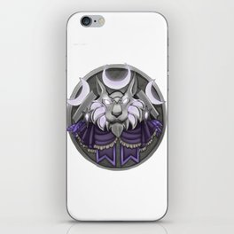 Light crest iPhone Skin