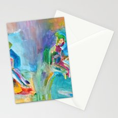 Waiting Ladies Stationery Cards