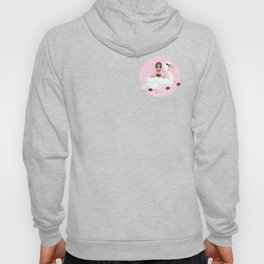 Summer Pool Party - White Swan Float E Hoody