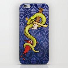 Knife and Snake tattoo print iPhone & iPod Skin
