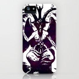 Baphomet Dreams iPhone Case
