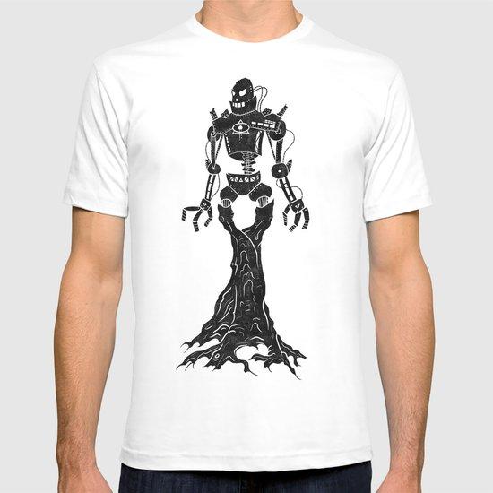 Antiquarian Roboterbaum T-shirt