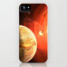 Planet Venus iPhone Case