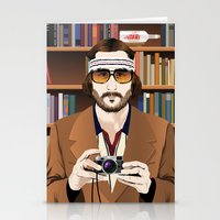tenenbaum Stationery Cards featuring Richie Tenenbaum by The Art Warriors