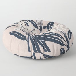 Boho Botanica Floor Pillow