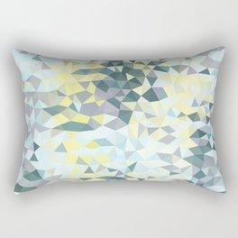 Spring Rain Tris Rectangular Pillow