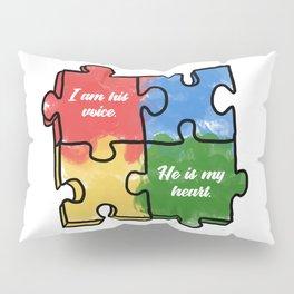 Autism Child Love Puzzle Asperger-Syndrome Gift Pillow Sham