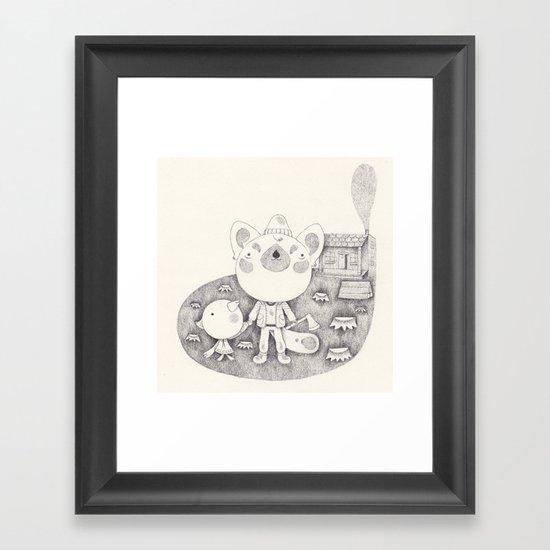 le cabanon Framed Art Print