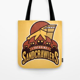 Tatooine SandCrawlers - Gold Tote Bag