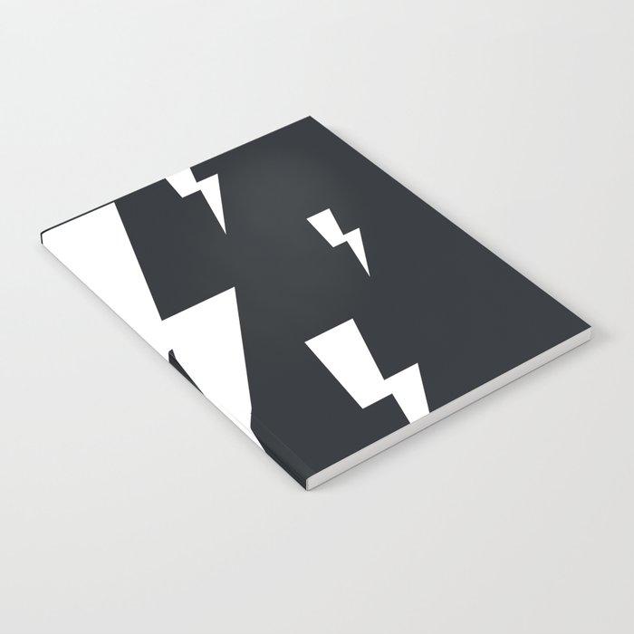 Lightning bolts Notebook