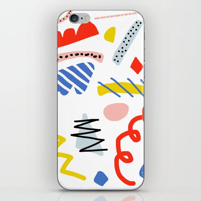 Memphis Zazzle iPhone Skin