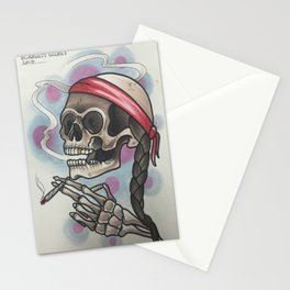 Roll me up and smoke me when i die Stationery Cards