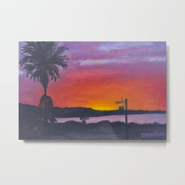 Luxton View Vibes (vibrant) Metal Print