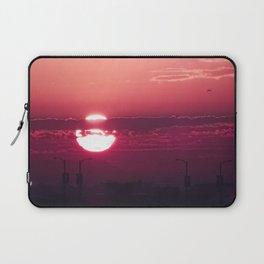 Dark Rose Dawn Laptop Sleeve