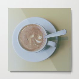 It's always coffee time Metal Print