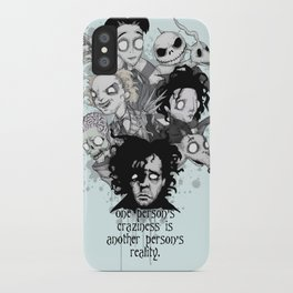 One Person's Craziness iPhone Case