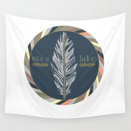 Take A Hike Wall Tapestry