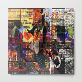 Paragon City Is Calling [Recombinant Series] Metal Print