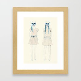 girl-16 Framed Art Print
