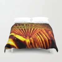 the xx Duvet Covers featuring abstract xx by  Agostino Lo Coco
