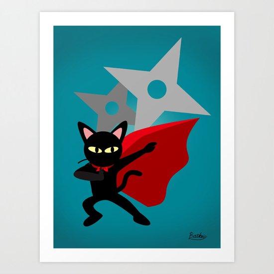The hero came Art Print
