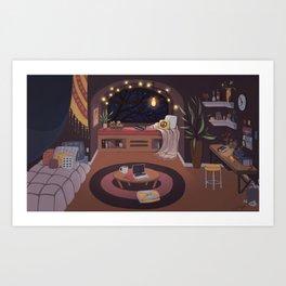 Cozy Room Art Print