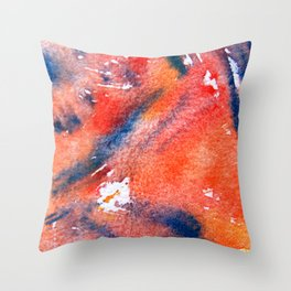 Symphony in blue minor I Throw Pillow