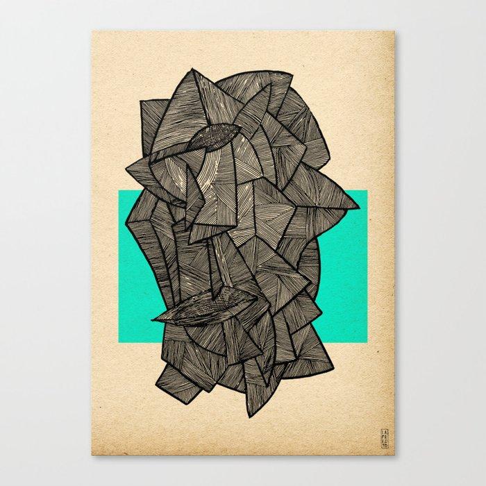 - sleeping disco - Canvas Print