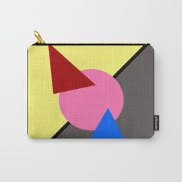 Two Triangles zip zip Carry-All Pouch