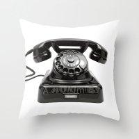 anonymous Throw Pillows featuring Anonymous by bravo la fourmi