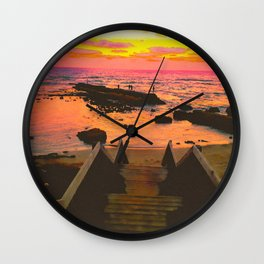 You Never Have To Chase What Wants To Stay. Wall Clock