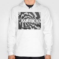 america Hoodies featuring America by politics