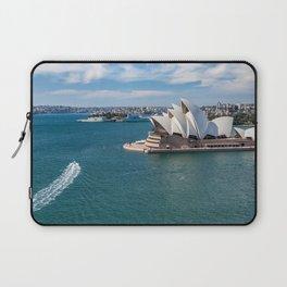 Sydney Harbor and Sydney Opera House Laptop Sleeve