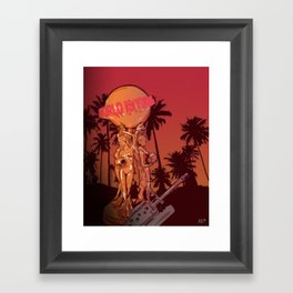 Scarface (world is yours) Framed Art Print