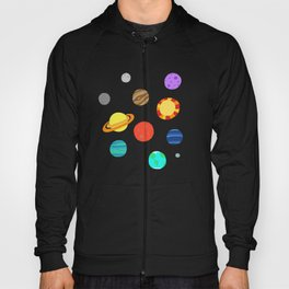 planets and stars Hoody