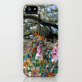 Neptune Rides iPhone Case