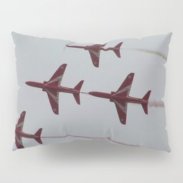 Royal Air Force Fighter Planes In Formation Pillow Sham