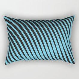 Warped Lines Rectangular Pillow