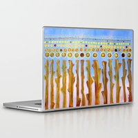 indiana Laptop & iPad Skins featuring :: Indiana Corn :: by :: GaleStorm Artworks ::
