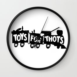 BQ - Toys for Thots Wall Clock