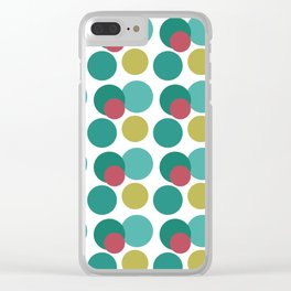 Capitales Clear iPhone Case