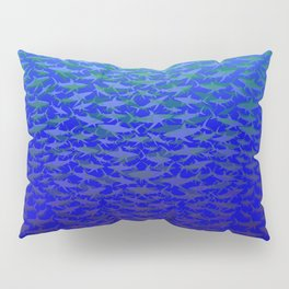 Sharks In Deep Water. Pillow Sham