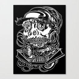 DJ Hardkore Canvas Print