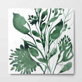 Organic Impressions No. 107 by Kathy Morton Stanion Metal Print